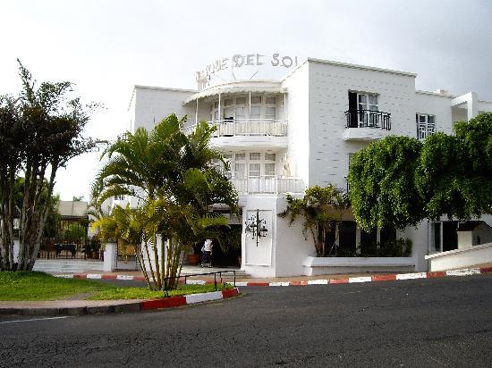 Parque del Sol: Front entrance