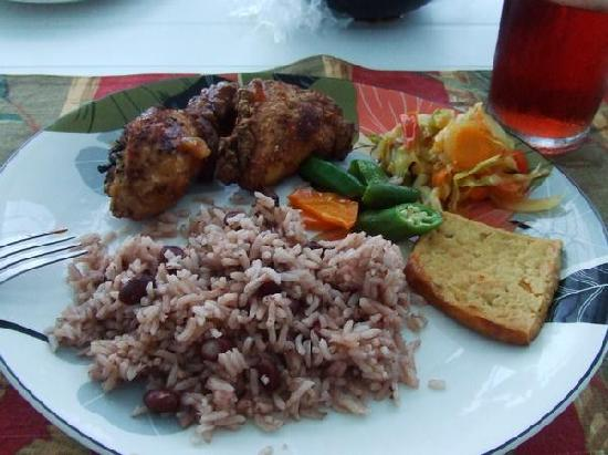 Villa Bahia: A typical meal from your private chef