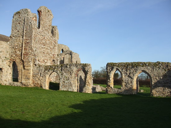 Suffolk, UK: Leiston Abbey, near Southwold / Aldeburgh