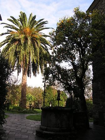 Pazo da Trave: The hotel gardens