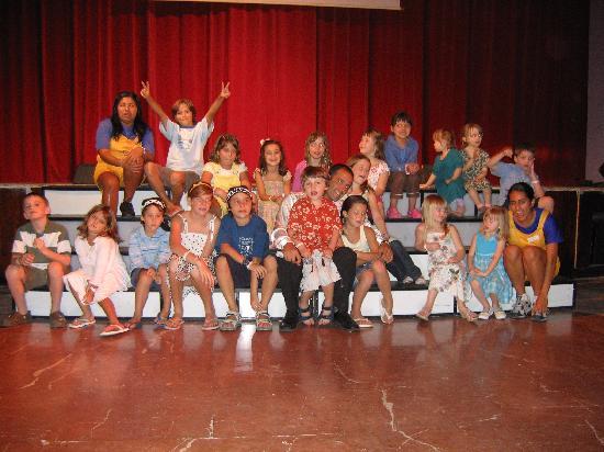 Iberostar Paraiso Del Mar: The kids Mini Disco at Night!