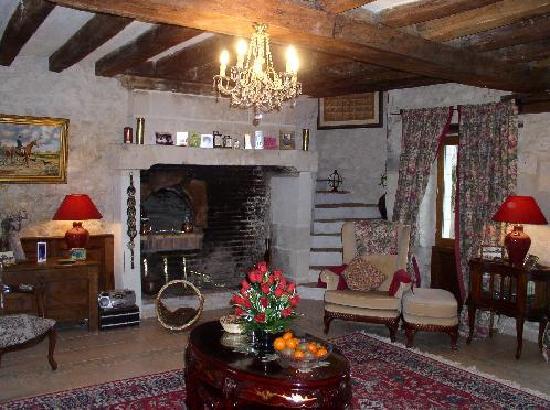 La Prairie : Gite Roseraie sitting room