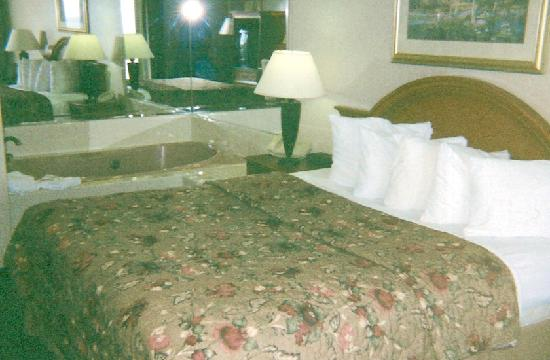 Holiday Inn San Clemente: King Bed & Jacuzzi