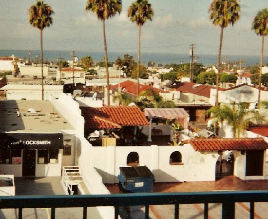Holiday Inn San Clemente: View from balcony