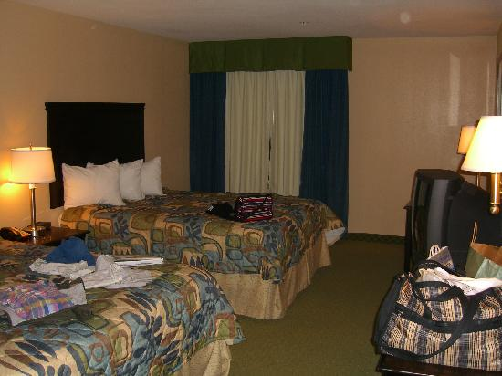 Days Inn & Suites - Savannah North I-95: Days Inn & Suites Port Wentworth-North Savannah: Inside of the room