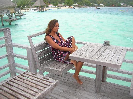 InterContinental Bora Bora Le Moana Resort: io sconsolata dal tempo
