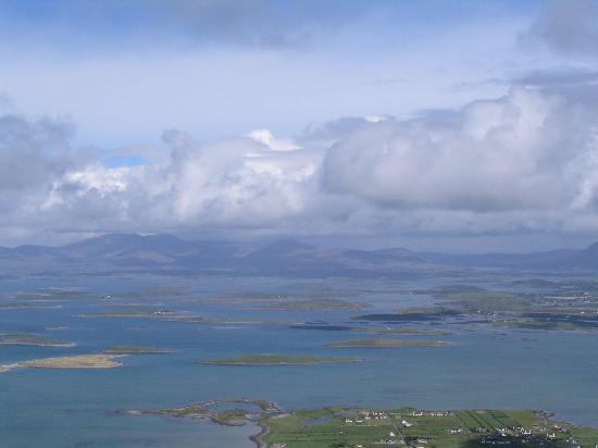 מחוז מאיו, אירלנד: vue depuis le sommet