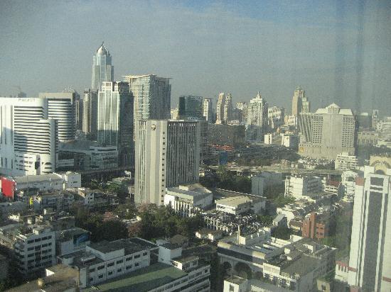 Royal Benja Hotel: vistas desde la planta 27