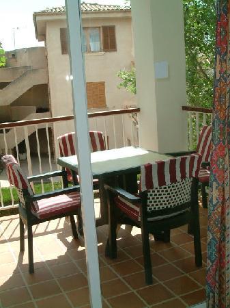 Villa Alexia: Balcony