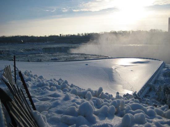 Cascate del Niagara, NY: White Spectacular