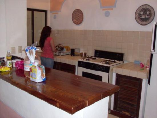 Puerto de Luna Pet Friendly and Family Suites: Kitchen, great to make your own food
