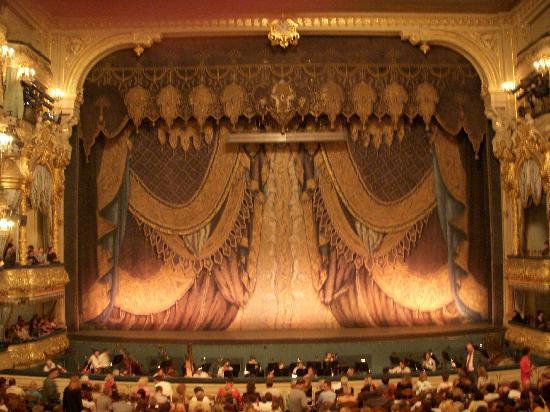 Théâtre Mariinsky : View from the Tsar's box.