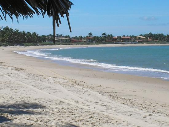One of the beaches at Tabatinga