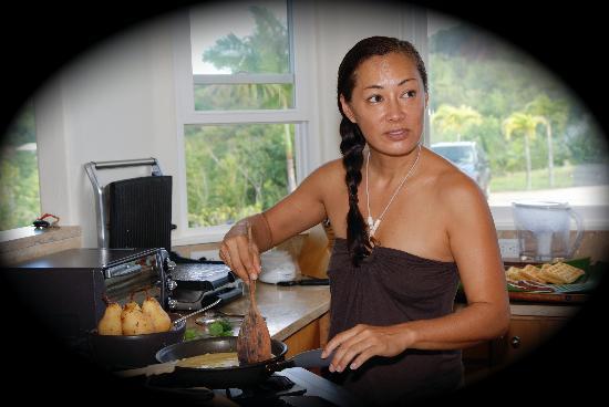 The Palmwood: Gourmet Breakfast Prepared by Hostess (Eddi)