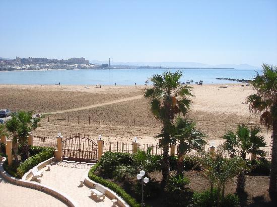 Villa Romana Hotel: The beach in front of the hotel