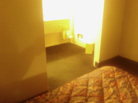 Knights Inn Plant City: Bathroom area