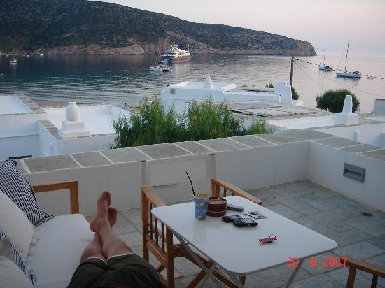 Elies Resorts Sifnos: Deck View Evening