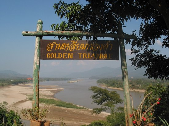 Sop Ruak - the center of the Golden Triangle