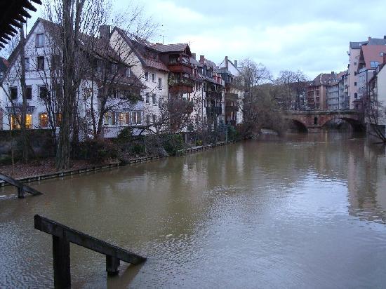 Hotel Victoria: River View in Altstadt