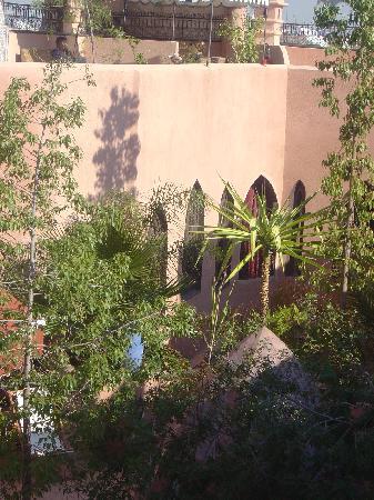 Riad Amira Victoria: Der Hof des Riad