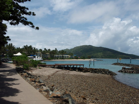 Daydream Island, Australia: Boardwalk to South End