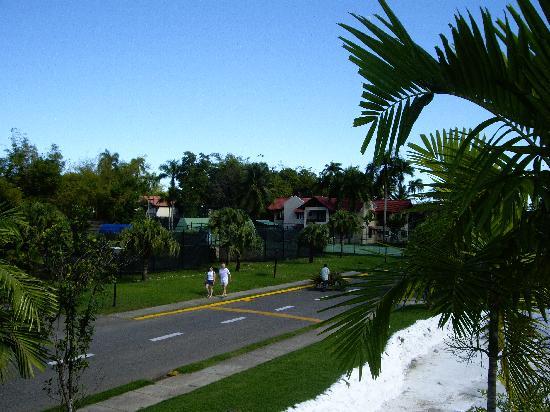 Occidental Caribbean Village Playa Dorada : View from our balcony
