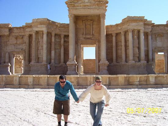 Roman Theatre of Palmyra: Centre Stage