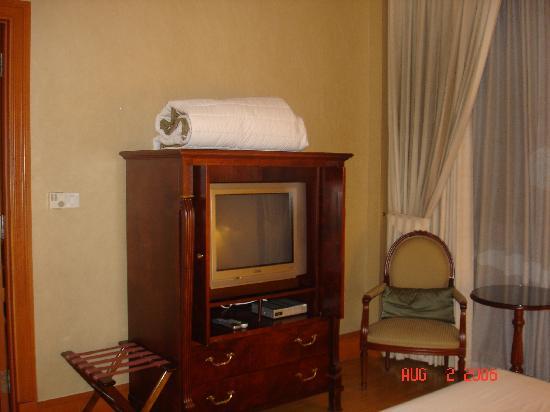 Raffles Town Club : Bedroom