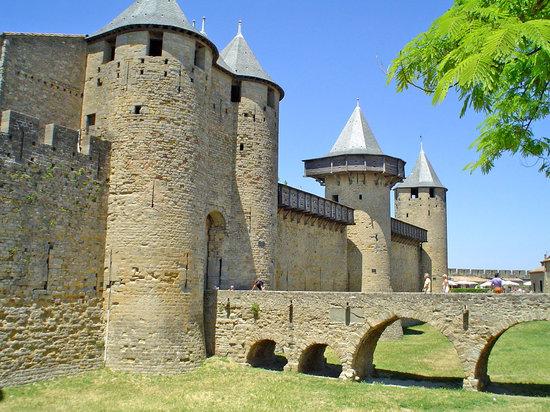 Carcassonne, France: ciudad amurallada