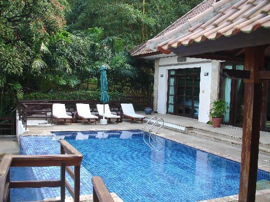 Nirwana Gardens - Indra Maya Pool Villa: Seaview 2 bedroom villa in the day