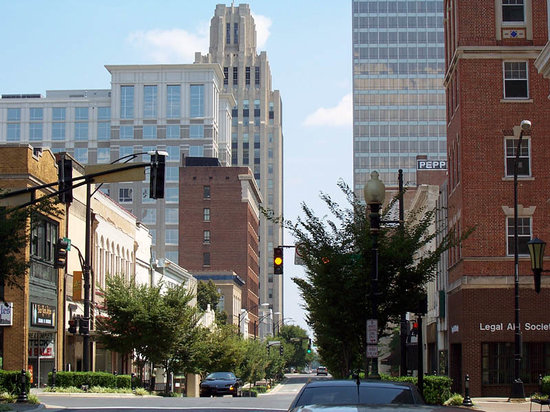 Winston Salem, Kuzey Carolina: Downtown Winston-Salem