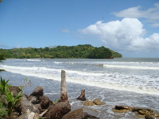 Manzanilla, Trinidad: The sea in fron of the resort