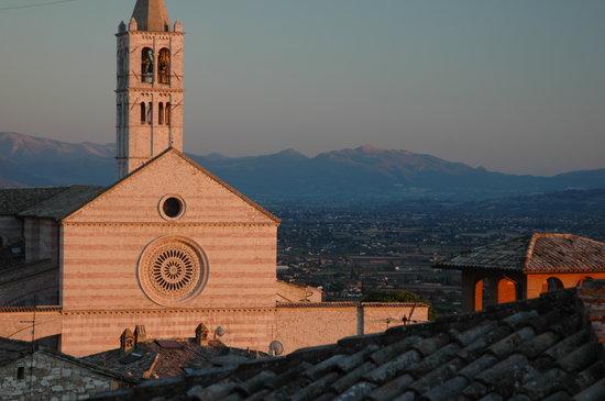 Hotel Pallotta Assisi: Hotel Pallotta - Vista panoramica da una camera