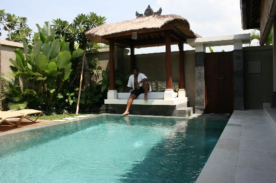 Disini Luxury Spa Villas: A great pool - and totally private
