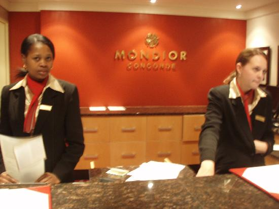 Peermont Mondior at Emperors Palace: good service
