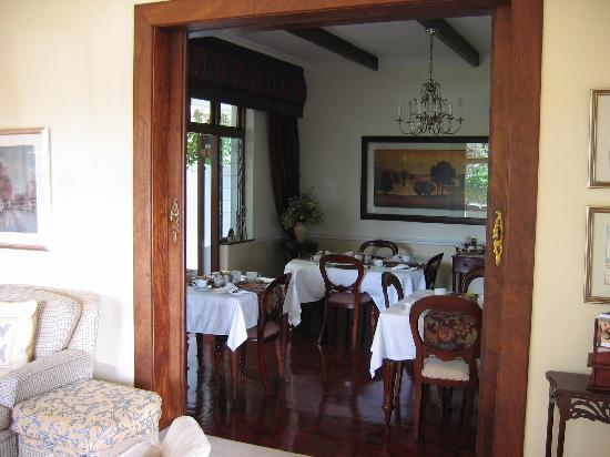 Carslogie House: breakfast room