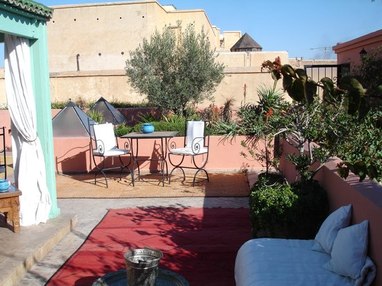Angsana Riads Collection Morocco : The tranquil roof terrace, with sun, birdsong...