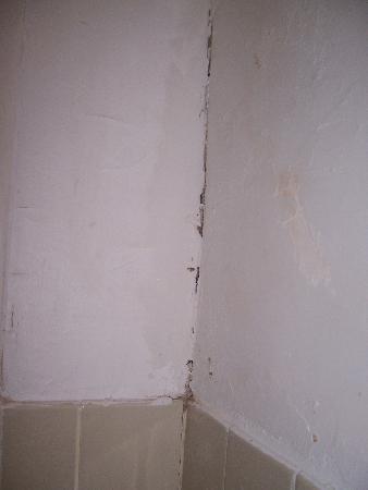 إمبريس هوتل: Cracks & Mole in the corner