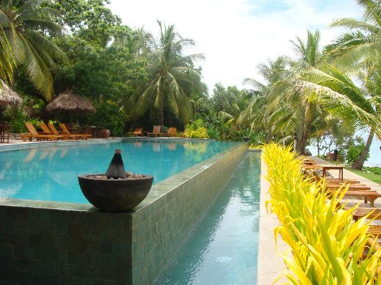 Tokoriki Island Resort: The infinity pool