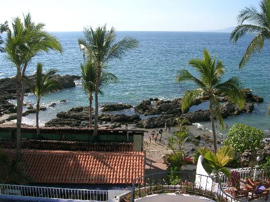 Playa Conchas Chinas Hotel: View From our Balcony