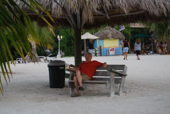 Coconut Cove Resort and Marina: My father in law relaxing