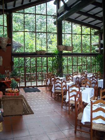 Inkaterra Machu Picchu Pueblo Hotel: Dining Room