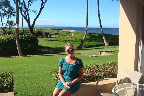Menehune Shores: View from our lanai