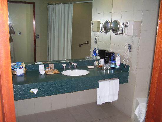 Delfines Hotel & Convention Center: Bathroom