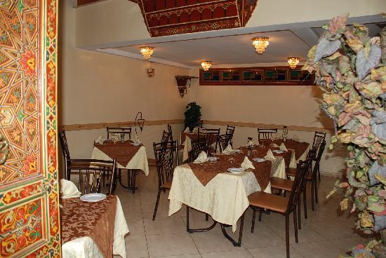Hotel Perla: Restaurant