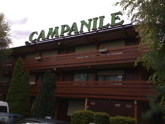 Campanile Meaux Sud - Nanteuil Les Meaux : The rooms building