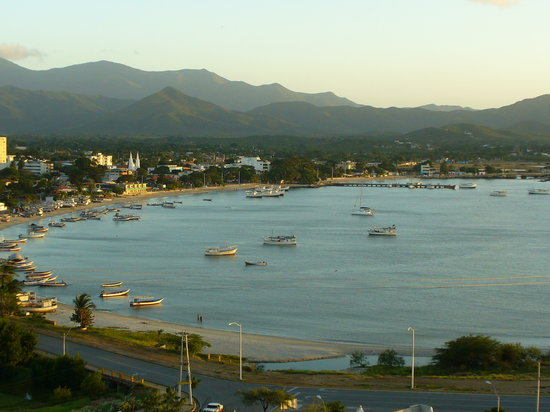 Margarita Island, Venezuela: View from look out point on Jeep Tour