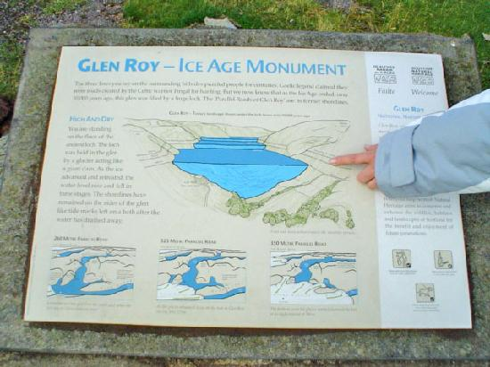 Glen Roy National Nature Reserve: la correcta explicación