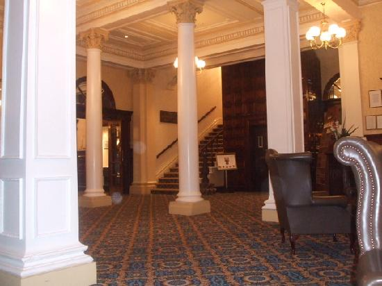The Imperial Hotel : reception area in hotel