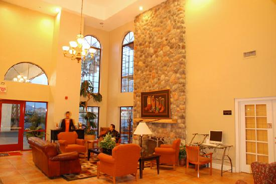 Quality Inn: Reception area